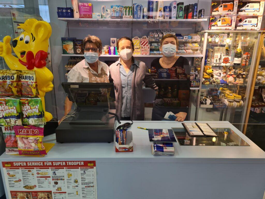 Kiosk im Krankenhaus